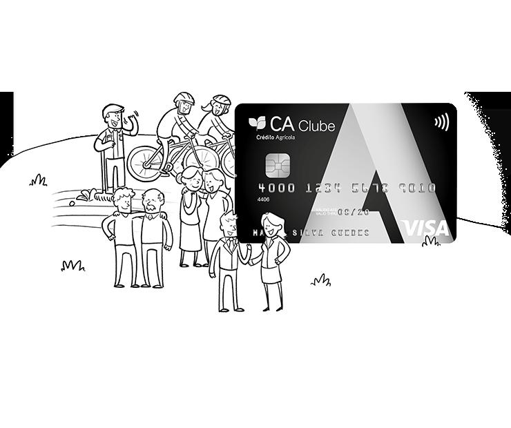 a54901d5dc O cartão que dá acesso às vantagens do Clube A.